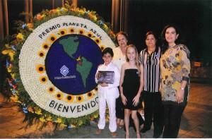 Premio recibido por comunidad Colegio San Miguel