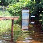 Roche Caiman flooded prior to works