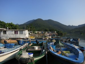 Boats at Tai Tam