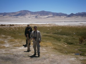 Field trip to the Salar del Huasco