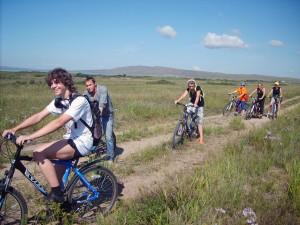 На велосипедном маршруте