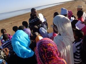 Sortie de terrain Bouhajra reconnaitre les oiseaux