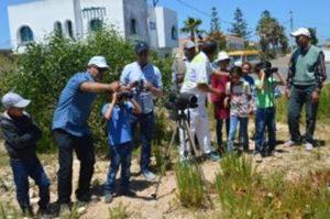  Visite du centre de 30 écoliers de l'école Khmis LAKSIBA, de la province de Sidi Bennour