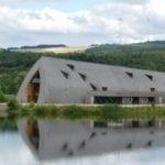 oval building shape museum