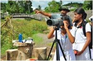 Birdwatching at Diyasura, Sri Lanka