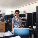 Adil in WWT offices