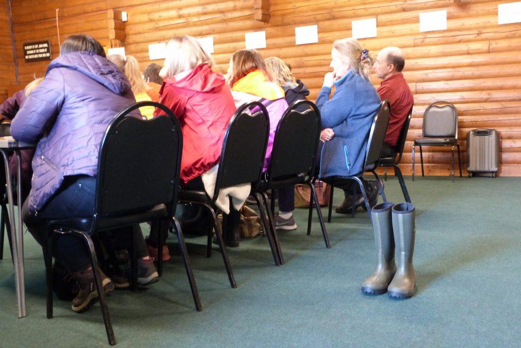 Welli boots await pupils