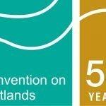 Logo of Ramsar50th Anniversary