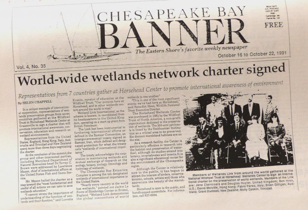 Chesapeake Banner report on WLI