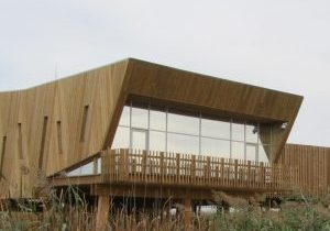 Visitor centre building