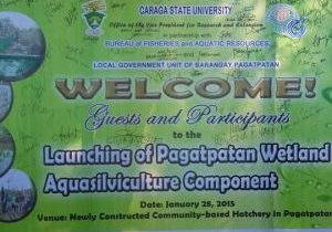 Welcome and launch banner